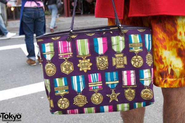 Jeremy Scott x Longchamp Medals Handbag