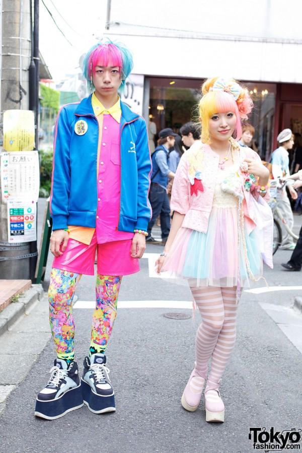 Junnyan & Kumamiki's Extra-Vivid Harajuku Style w/ Super Lovers & Party Baby