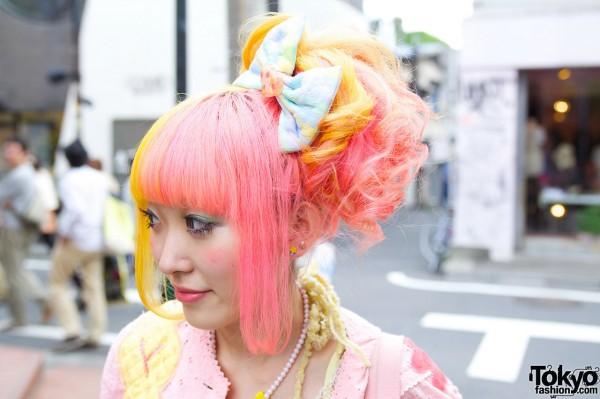Party Baby Hair Bow in Harajuku