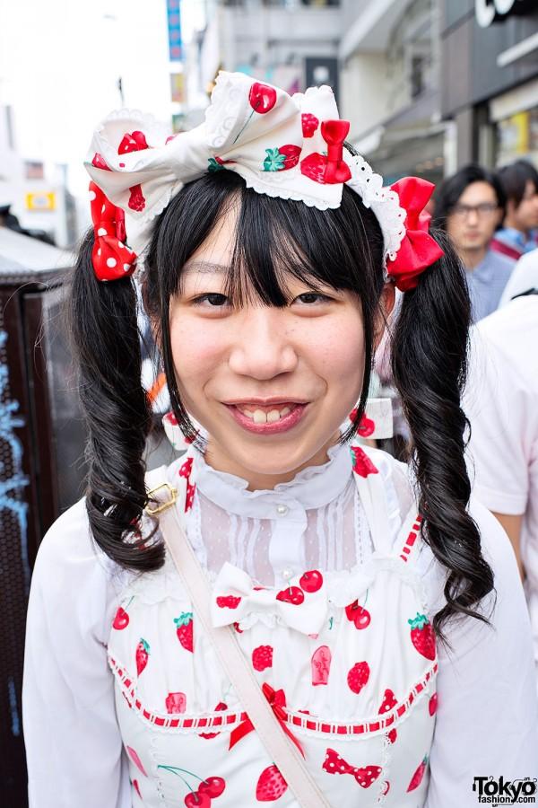 Angelic Pretty Sweet Lolita in Harajuku