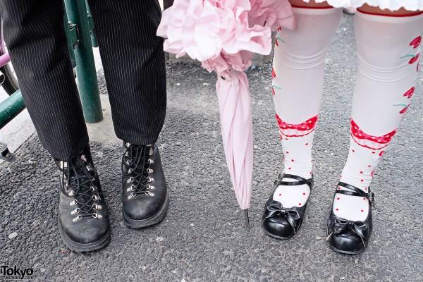 Boots & Lolita Shoes in Harajuku