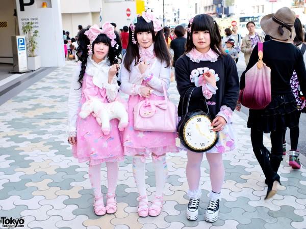 Harajuku Lolita Fashion & Milklim