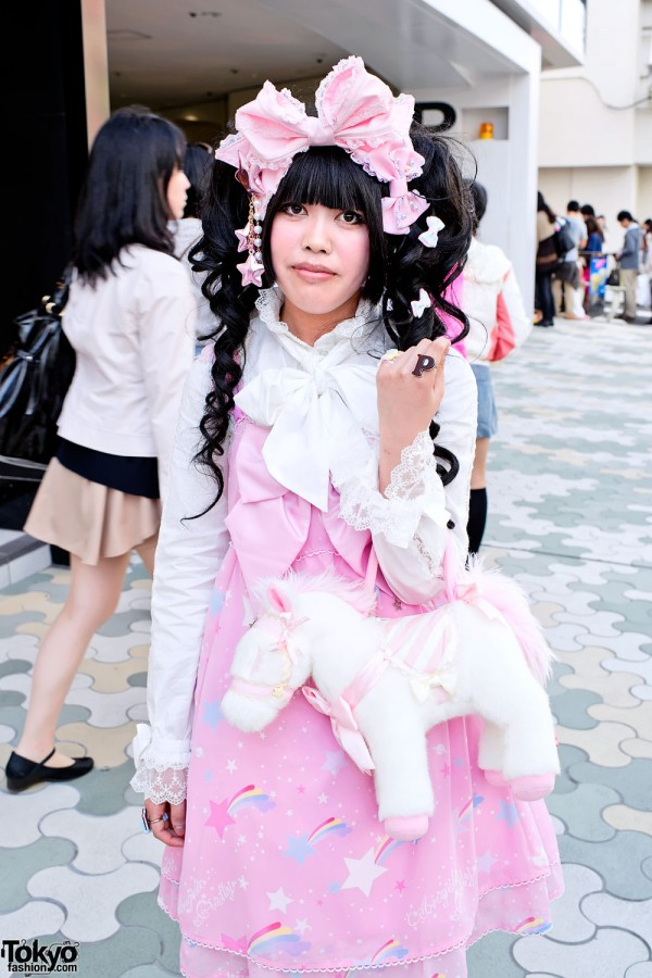 Angelic Pretty Lolita in Harajuku