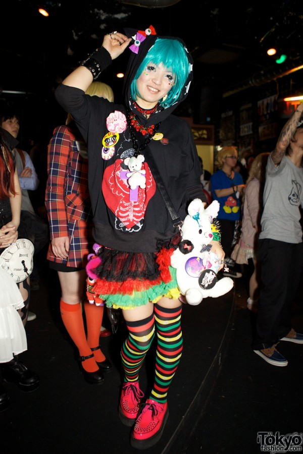 Tokyo Fashion Party Snaps at Heavy Pop (9)