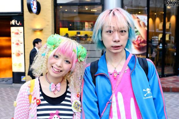 Kurebayashi & Junnyan in Shibuya