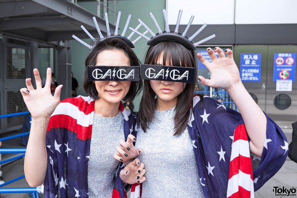 Lady Gaga Fan Fashion in Japan (6)