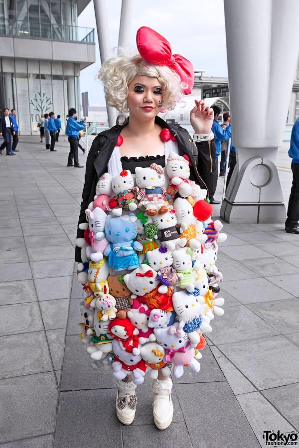 Lady Gaga Fan Fashion in Japan (7)