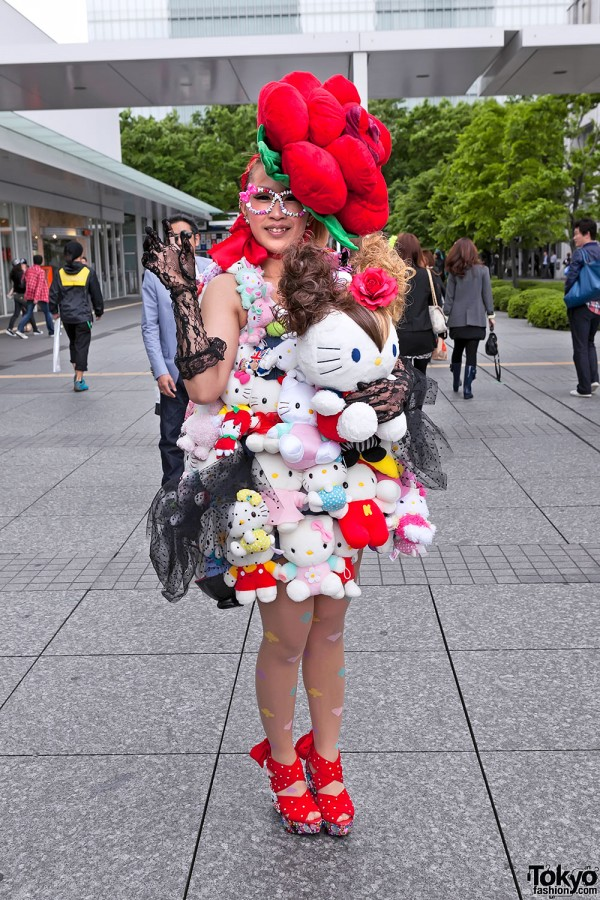 Lady Gaga Fan Fashion in Japan (30)