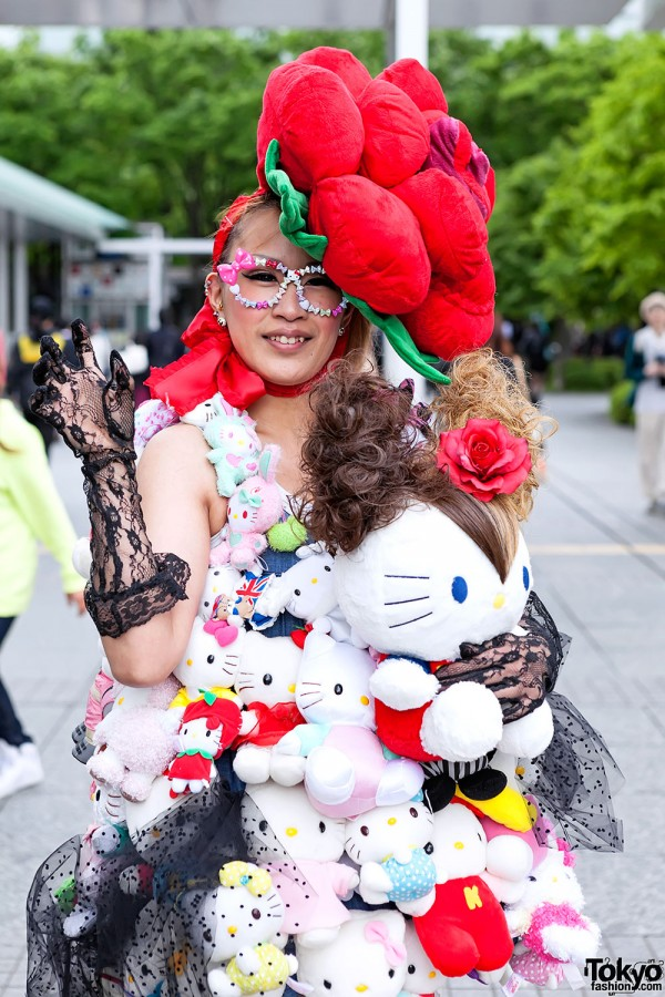 Lady Gaga Fan Fashion in Japan (31)