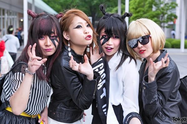 Lady Gaga Fan Fashion in Japan (35)