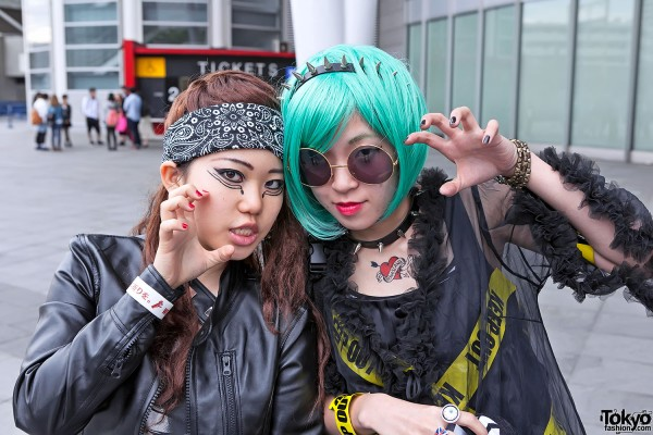 Lady Gaga Fan Fashion in Japan (39)