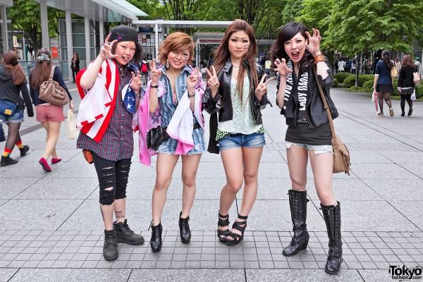 Lady Gaga Fan Fashion in Japan (53)