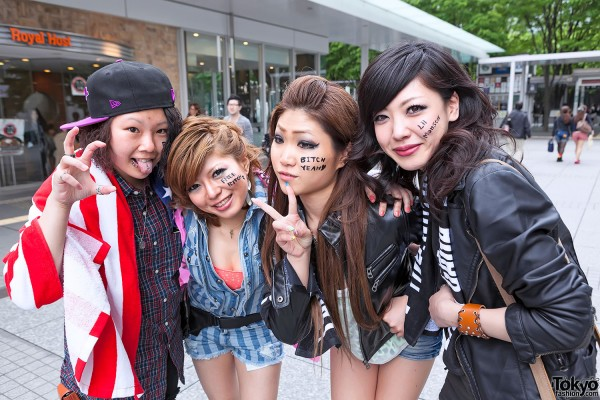 Lady Gaga Fan Fashion in Japan (54)