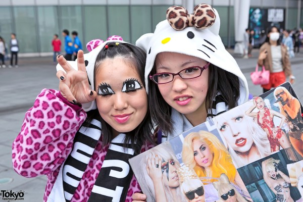Lady Gaga Fan Fashion in Japan (2)