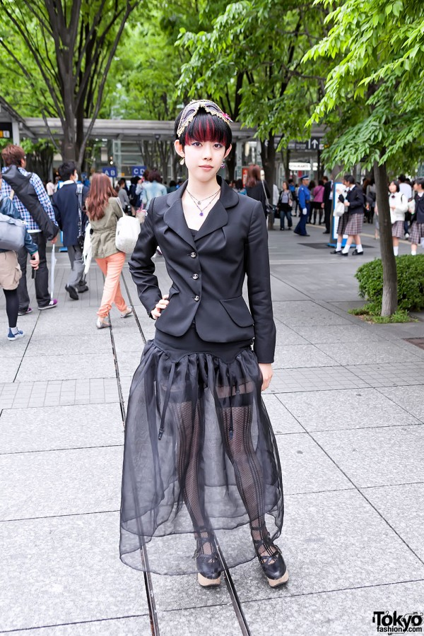 Lady Gaga Fan Fashion in Japan (61)