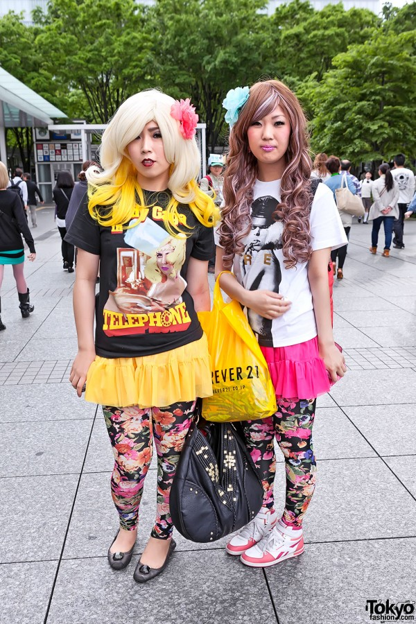 Lady Gaga Fan Fashion in Japan (68)