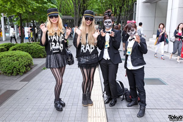 Lady Gaga Fan Fashion in Japan (70)