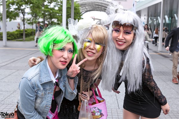 Lady Gaga Fan Fashion in Japan (81)