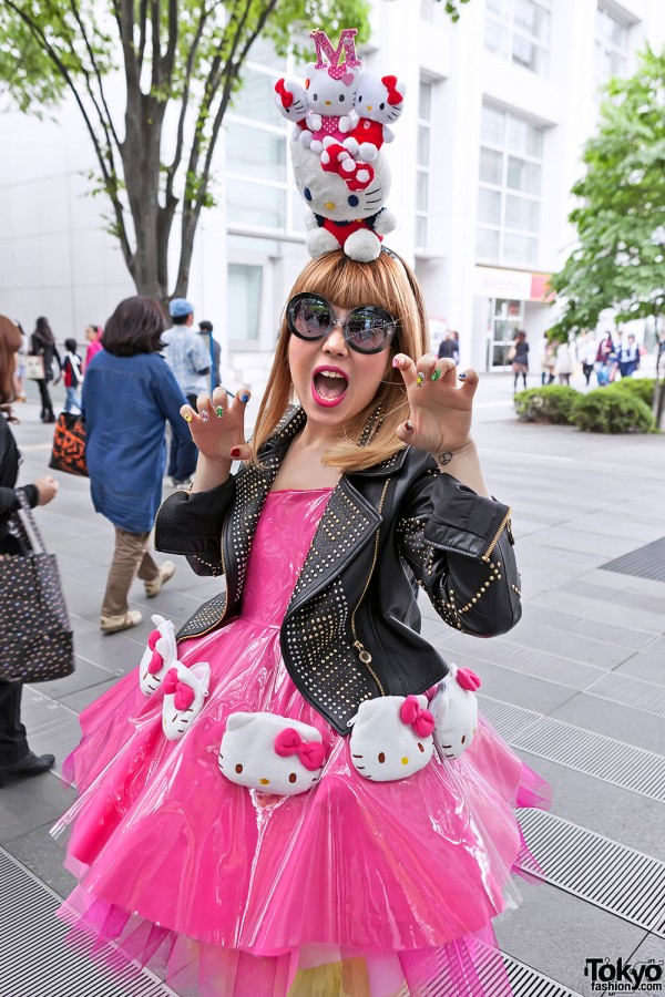 Lady Gaga Fan Fashion in Japan (82)