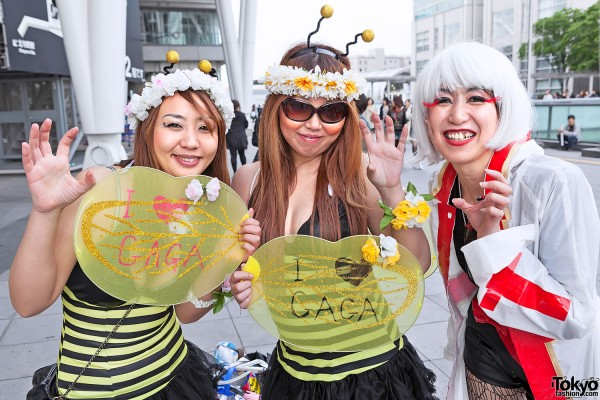 Lady Gaga Fan Fashion in Japan (85)