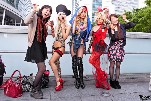 Lady Gaga Fan Fashion in Japan (91)