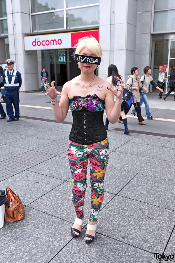 Lady Gaga Fan Fashion in Japan (97)