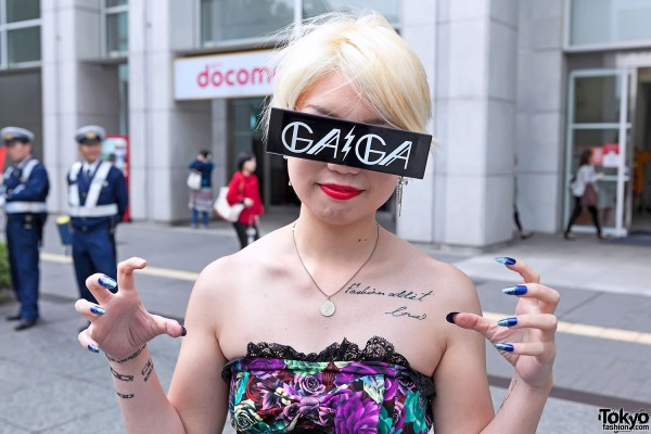 Lady Gaga Fan Fashion in Japan (98)
