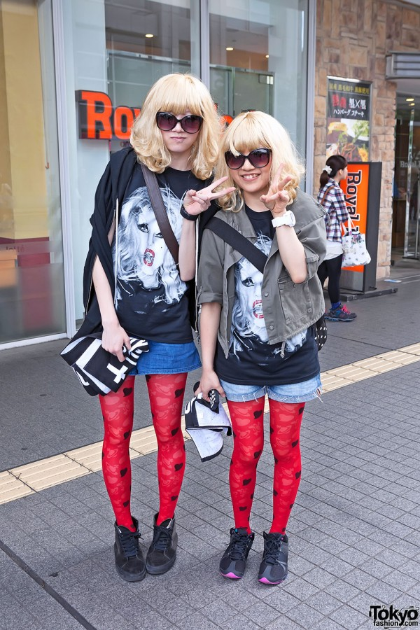 Lady Gaga Fan Fashion in Japan (101)