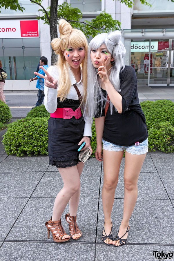 Lady Gaga Fan Fashion in Japan (105)