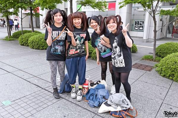 Lady Gaga Fan Fashion in Japan (112)