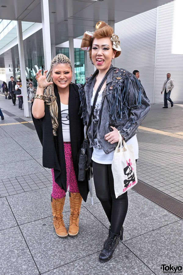 Lady Gaga Fan Fashion in Japan (120)