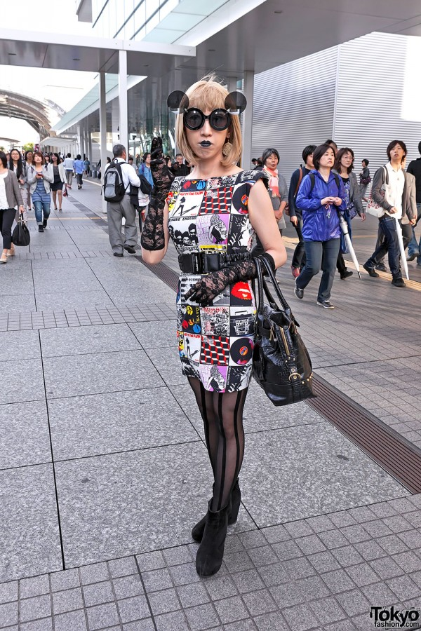 Lady Gaga Fan Fashion in Japan (128)