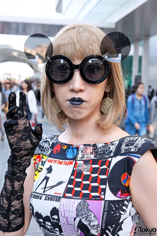Lady Gaga Fan Fashion in Japan (129)