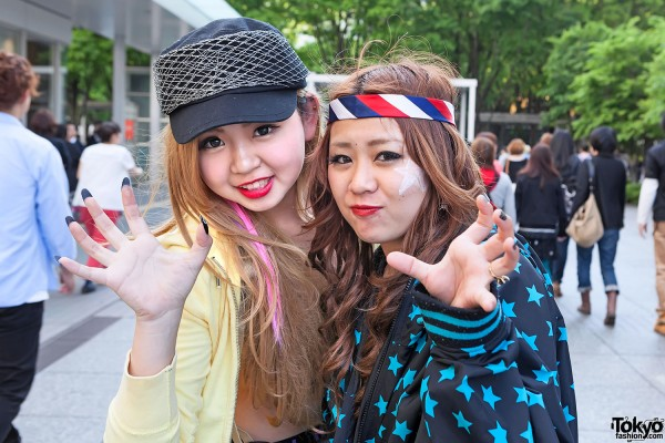 Lady Gaga Fan Fashion in Japan (135)
