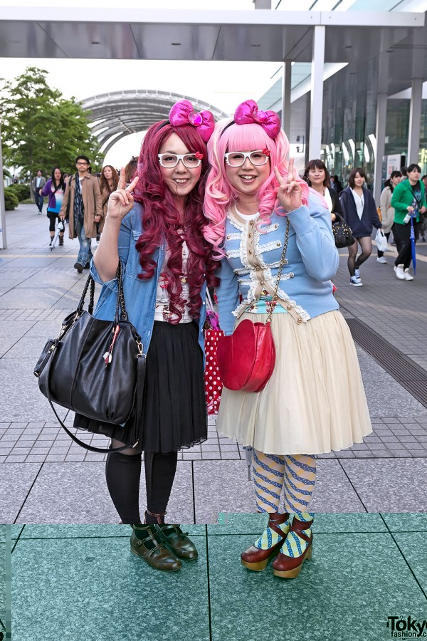 Lady Gaga Fan Fashion in Japan (140)