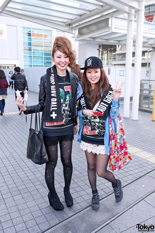 Lady Gaga Fan Fashion in Japan (156)