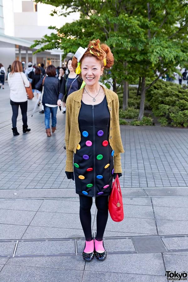 Lady Gaga Fan Fashion in Japan (158)