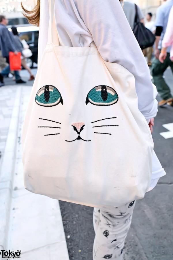 Cute Cat Bag in Harajuku