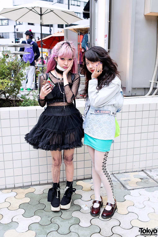 Juria Nakagawa & Mayupu in Harajuku