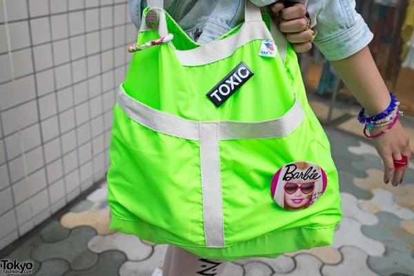 Toxic Barbie in Harajuku