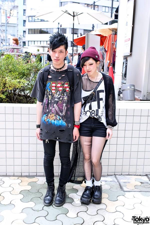 Harajuku Punk Couple