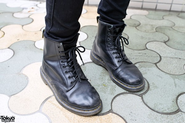Dr. Martens Boots in Harajuku