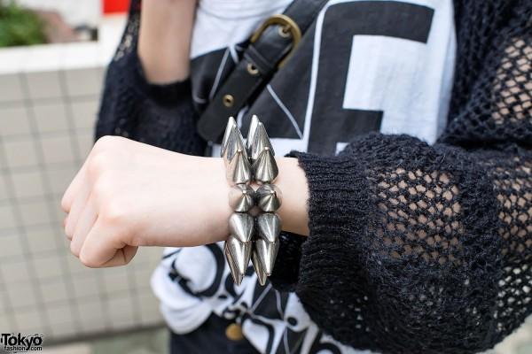 Spike Bracelet in Harajuku