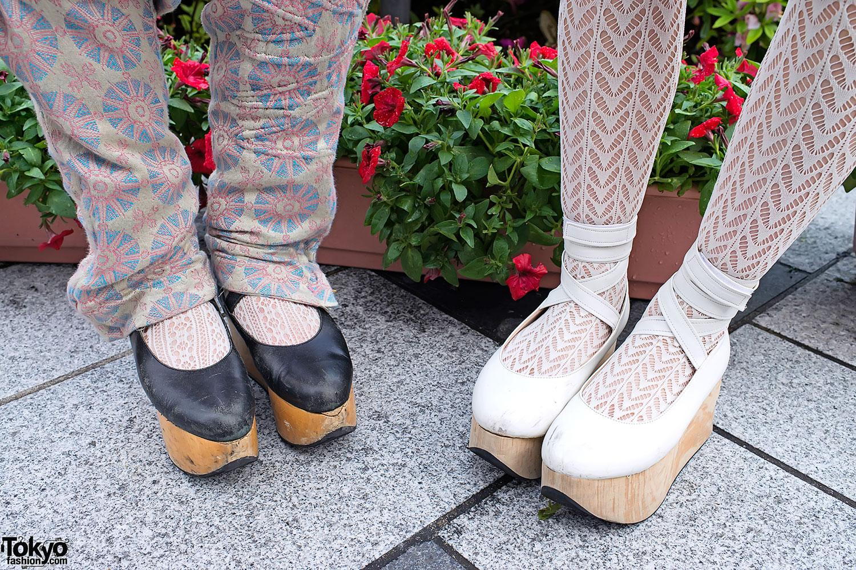 Barrack Room Antique Photo Skirt & Rocking Horse Shoes in Harajuku