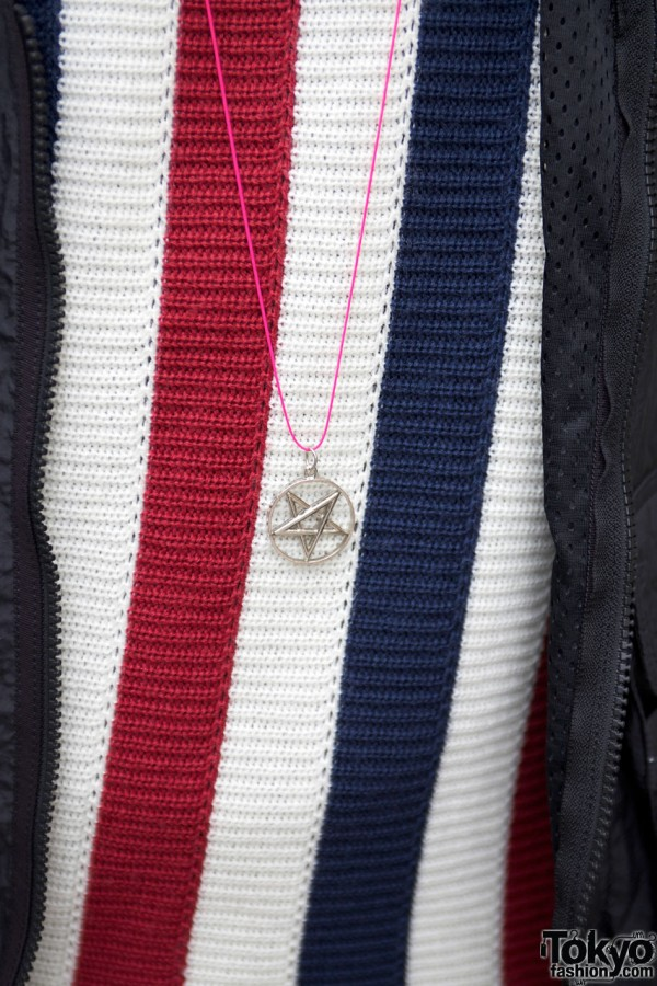 Star Necklace & Roc Star Sweater