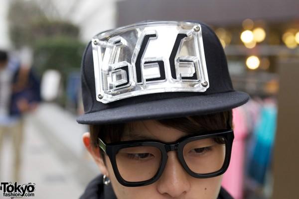 Chris Habana 666 hat in Harajuku