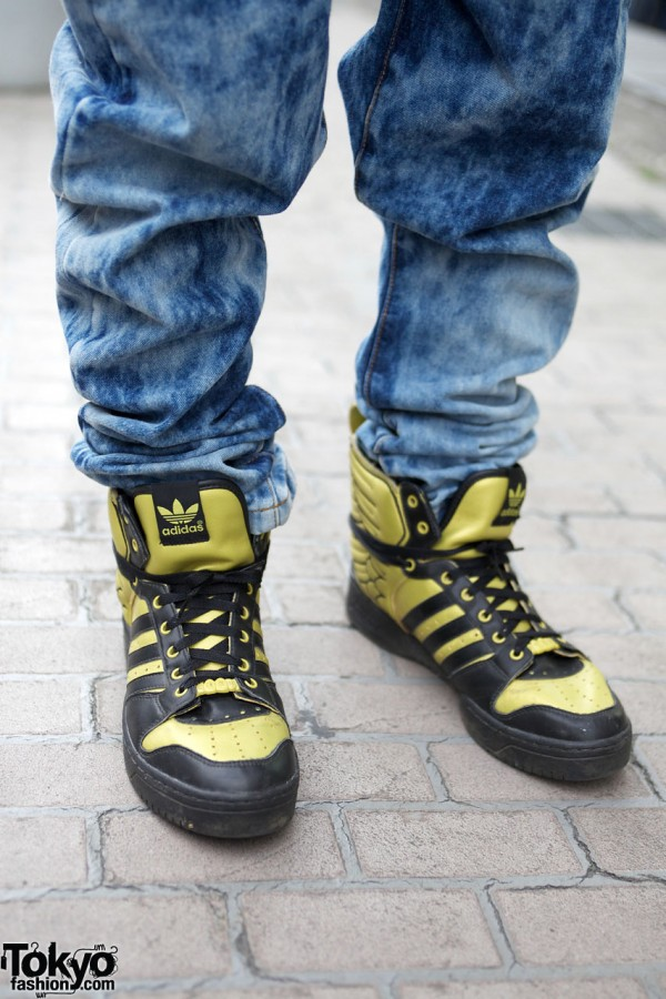 Adidas x Jeremy Scott shoes