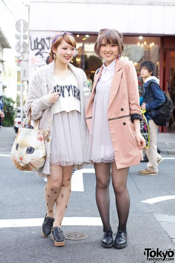 Gelato Pique Chiffon Dresses in Harajuku