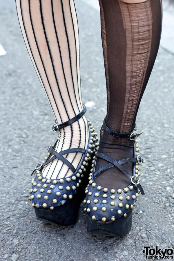 Studded Rocking Horse Shoes in Harajuku