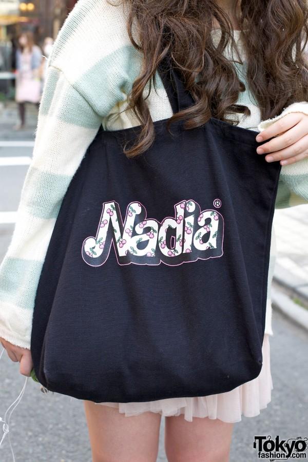 Nadia logo bag